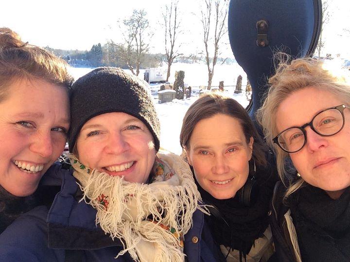 Snö, sol och härlig musik i Olle Lindbergs Mässa i Dala...